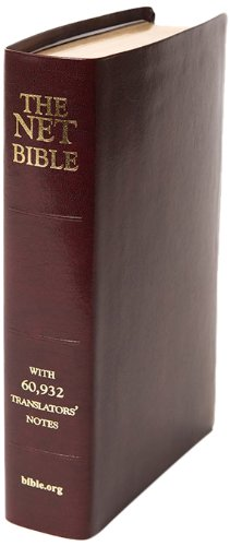 NET Bible Full Notes Edition- - Spoke Chr