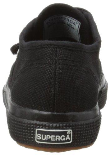 Superga 2750 Jvel Classic Zapatillas Unisex Para Niños Negro (Full Black)
