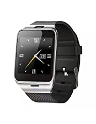 Celendi Bluetooth Smart Watch Sport Watch Camera Touch Screen For Iphone Samsung HTC Huawei Android Phone (black)