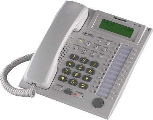 Corded Kx Telephone T7736 Panasonic (Panasonic KX-T7736 Telephone White by Panasonic)