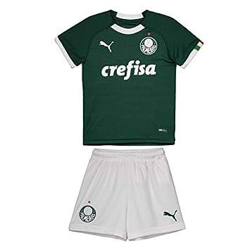 Kit Puma Palmeiras I 2019 Infantil  Amazon.com.br  Esportes e Aventura 36cb1a512b801