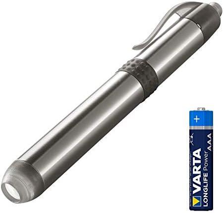 LED Pen Light weiße 5mm LED (ideal für Einsatz im Krankenhaus, Altenheim, Arztpraxis inklusive praktischer Befestigungsmöglichkeit)
