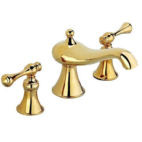 Oudan Taps Faucet Basin Faucet Retro gold Hot And Cold Faucet (color   -, Size   -)
