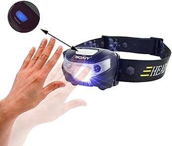SOAIY Motion Sensor Headlamp