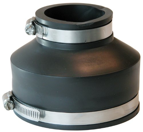 Fernco Inc. P1056-42 Flexible Coupling, 4-Inch (4 Inch To 2 Inch Reducer Pvc)