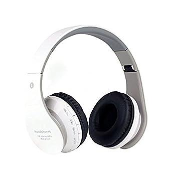 QIHANGCHEPIN Auriculares intrauditivos Bluetooth para niños 85dB Límite de Volumen Auriculares Plegables inalámbricos/con Cable Auriculares con 3.5mm Jack, ...