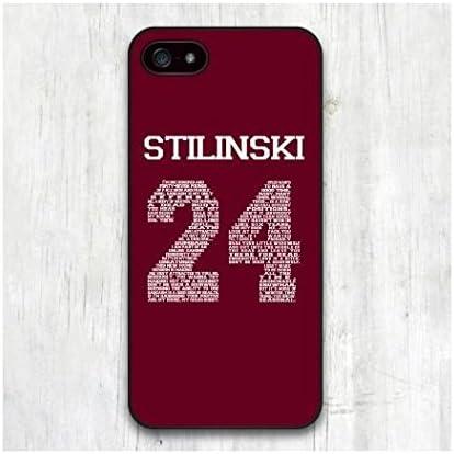 Teen Wolf Stilinski 24, Cover in plastica Dura, Resistente, per Apple iPhone 4/4S