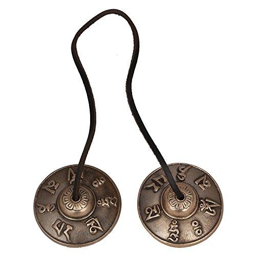 Instrument Antique (SHIVIKA VZX328 Brass Manjeera Musical Instrument)