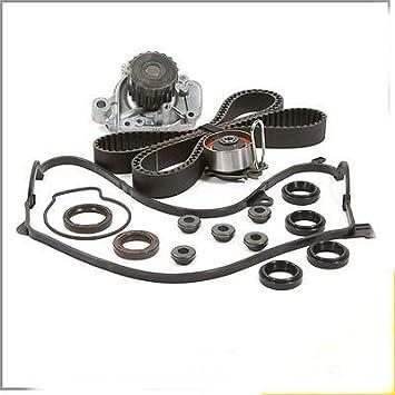 Timing Belt /& Water Pump Valve Cover Gasket Kit fits 2001-2005 Honda Civic 1.7L