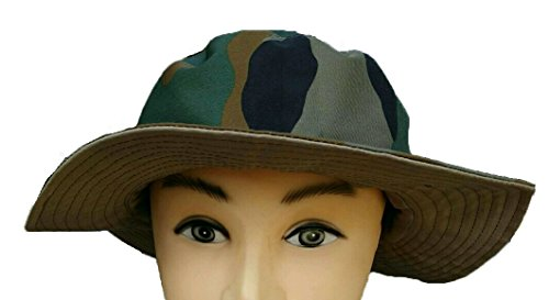 Add-venture India Add-Gear Army Hat/Military Camo Boonie Hat - Reversible Two Colour Hat by Add-venture India
