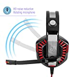 Gaming Headset,Beexcellent GM-2 3.5mm Over-Ear LED