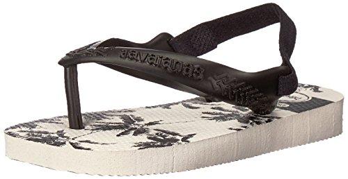Havaianas HavaianasBaby Chic Sandal, White/Black/Black 21 BR/Toddler (7 M - Shop Havaianas