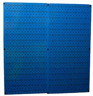 product image for Wall Control 30-P-3232BU Blue Metal Pegboard Pack