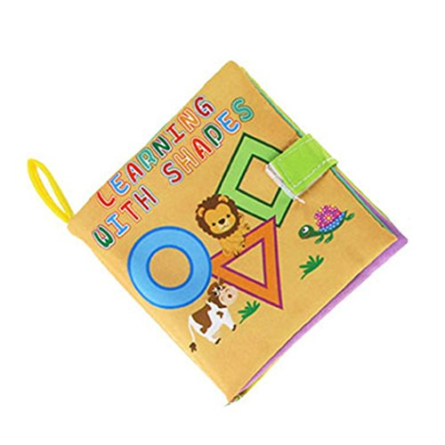 OVERMAL Soft New Cloth Baby Intelligence Development Learn Picture Cognize Book