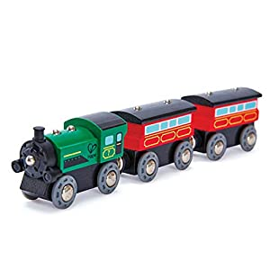 Hape Railway Steam-Era Passenger Train