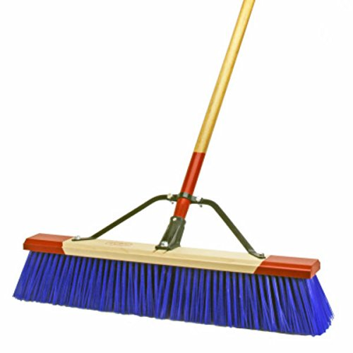 Broom Rough Surface Wood Blue by Harper Brush