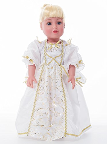 Doll Bride Costume (Little Adventures Bride Matching Doll Dress)