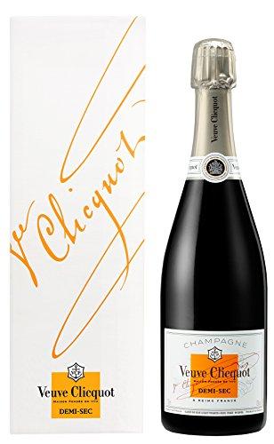 Champagne Veuve Clicquot Demi-Sec 750ml com Cartucho Veuve Clicquot