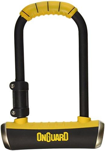 - ONGUARD Pitbull Medium U-Lock (Black, 3.55 x 6.90-Inch)