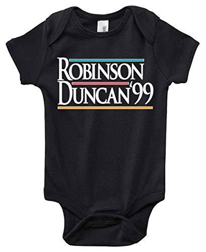 """Black San Antonio Robinson Duncan 99"""" Baby 1 Piece"""