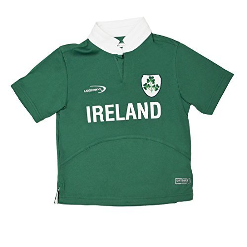 and Shamrock Performance Short Sleeve Kids Rugby Shirt (1/2 Years) ()