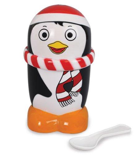 Ice Cream Mugz Personal-Size Instant Ice Cream/Slushy Maker, Penguin