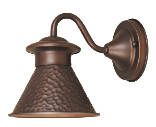 Copper Outdoor Wall Sconce Light in Florida - 6