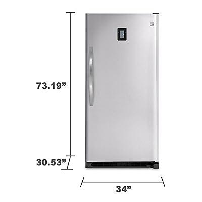 Kenmore Elite 27003 20.5 cu. ft. Upright Freezer - Stainless Steel