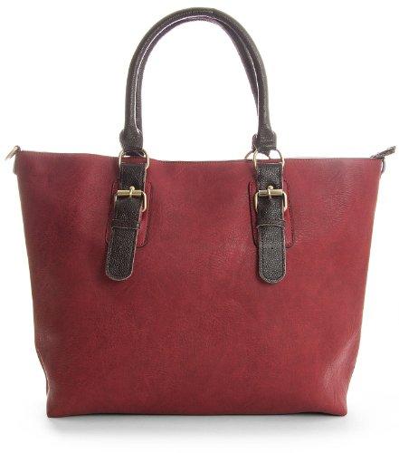 Womens Handle Tote Vegan Shop Navy Leather Handbag Designer Shoulder Big 2 Bag 1 in Large Top pfEvHwW