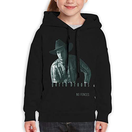 RhteGui Garth Brooks Boys /& Girls Junior Vintage Long Sleeve T-Shirt Black