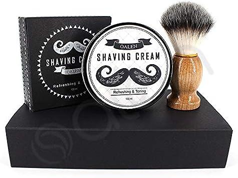 Crema de afeitar afeitadora espuma de afeitar Set cuidado de barba ...