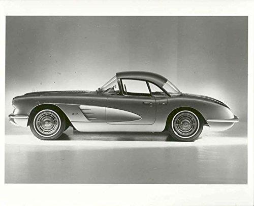 1958 Chevrolet Corvette Hardtop Factory Photo from AutoLit