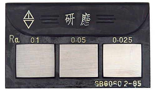 MXBAOHENG 27pcs Lathes Milling Grinders Surface Roughness Comparison Sample Block Specimens
