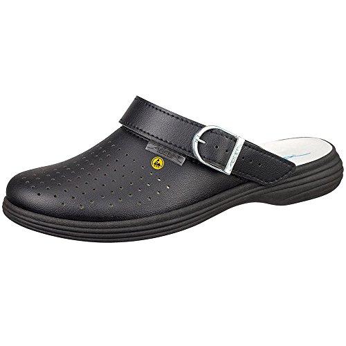 Abeba 37530-36 The Original Plus Chaussures sabot ESD Taille 36 Noir
