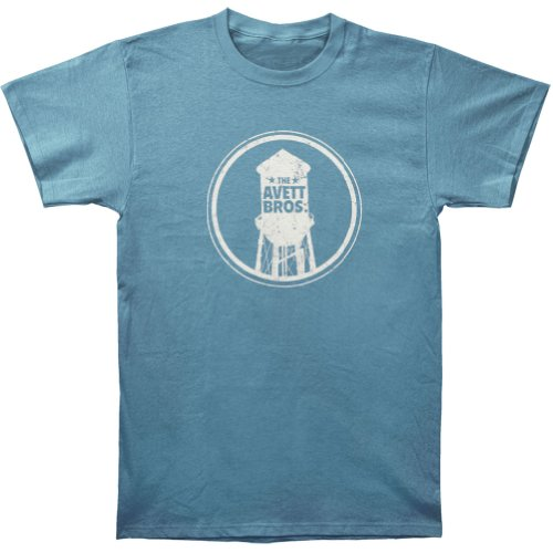 Rockabilia Men's Avett Brothers Water Tower Slim-Fit T-Shirt