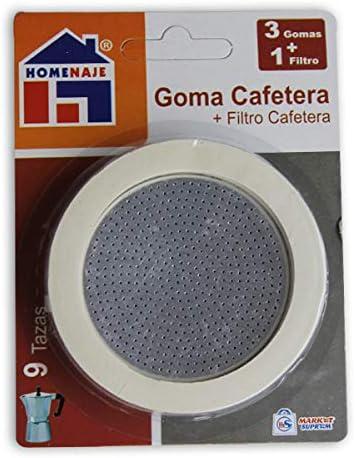 Market Suprem A5652 Gomas para cafetera, Plástico, Multicolor ...