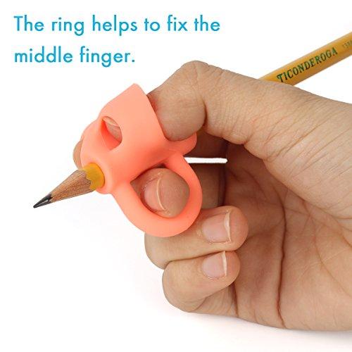 Amazon Pencil Grips Firesara 2018 New Original Breakthrough Assorted Writing Aid Grip Trainer Posture Correction Finger For Kids Preschoolers
