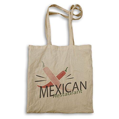 Borsa Da Ristorante Messicana Tote Bag O932r