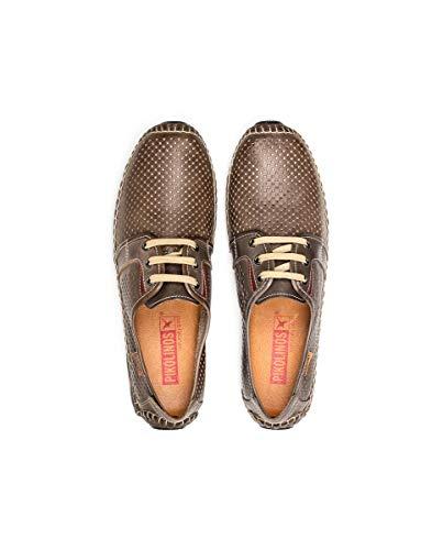 Cordones Zapatos Derby Para Jerez Hombre De Pikolinos 09z Darkgrey gIwWznCwqx
