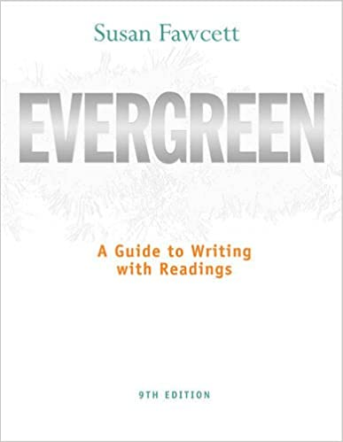 Amazon evergreen a guide to writing with readings basic evergreen a guide to writing with readings basic writing 9th edition fandeluxe Choice Image