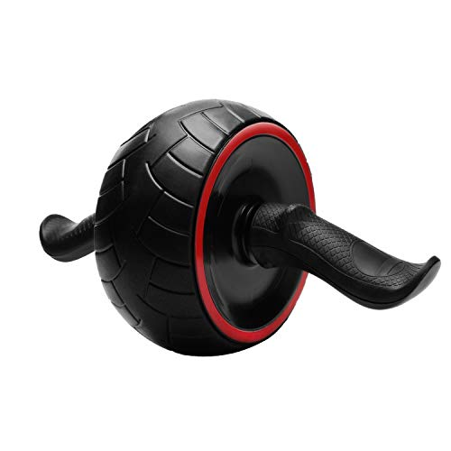 JAEZZIY Ab Roller for Abs Workout – Ab Carver Pro Roller Wheel Abdominal Exercise Equipment for Home Gym with Knee Pad