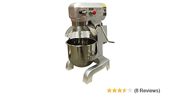 Amazon.com: Uniworld 20 Quart Commercial Planetary Mixer UPM-M20-3: Industrial & Scientific