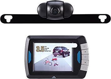 Amazon.com: Peak PKC0RB 3.5-Inch Wireless Back-Up Camera: Automotive
