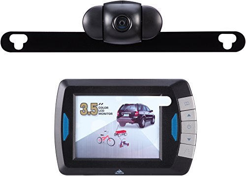 PEAK Digital Wireless Back-Up Camera, Color LCD Monitor, 3.5-inch ()