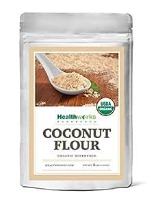 Amazon.com : Healthworks Coconut Flour Raw Organic, 4lb