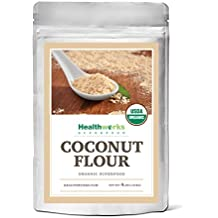 Healthworks Coconut Flour Raw Organic, 4lb