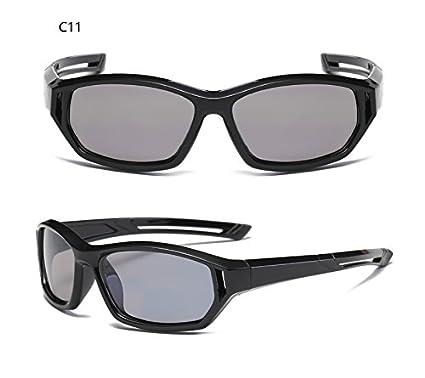 Yuying Deporte Exterior Infantil bebé niños Gafas Sol UV400 Gafas de Moda Gafas de Sol polarizadas niños Revestimiento de Seguridad (Color : C16): ...