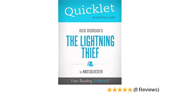 Quicklet On Rick Riordans The Lightning Thief Cliffnotes Like Book