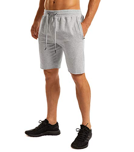 Ouber Men's Gym Workout Shorts Bodybuilding Running Training Jogging Pants