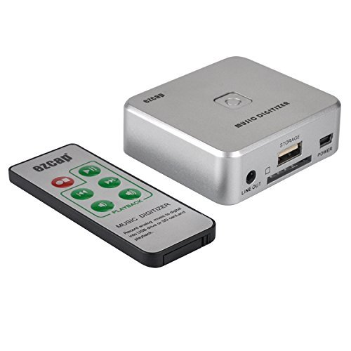 YQZH-US-39 Stand Alone Analogue to Digital MP3 Convert Box to SD or USB Flash Disk (Music Digitizer)